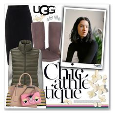 """""""The Icon Perfected:UGG Classic II Contest Entry"""" by yukotange ❤ liked on Polyvore featuring Raoul, UGG, Emilio Pucci, Uniqlo, Fendi, ugg and contestentry"""