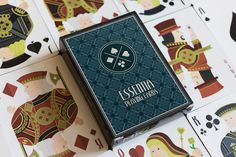 Bekijk mijn @Behance-project: 'Essentia Playing Cards' https://www.behance.net/gallery/60328285/Essentia-Playing-Cards