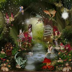 Fairy world....enchantment within....