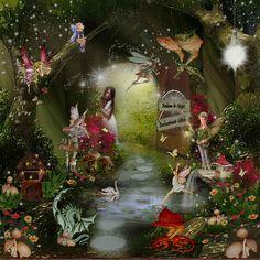 Fairy world....enchantment within....