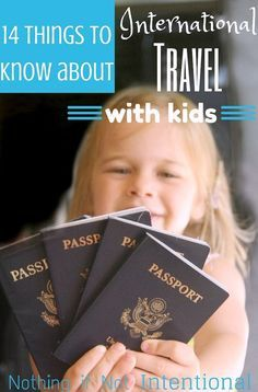 Get the Passports Ready! 14 Things To Know About International Travel with Kids (& Why You Should Give It a Try!) Get the Passports Ready! 14 Things To Know About International Travel with Kids. Toddler Travel, Travel With Kids, Family Travel, Family Vacations, Places To Travel, Travel Destinations, Travel Deals, Vacation Deals, Travel Rewards