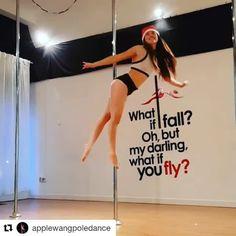 """70 Likes, 1 Comments - Pole Inspiration Dance Studio (@pole.inspiration.dance.studio) on Instagram: """"In that Christmas mood with instructor @applewangpoledance #poledance #pole #pdtitanic #happy…"""""""