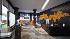 Rompharm office interior design by Geometrix | Design Build Ideas