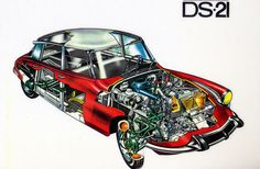 Citroen DS21 cutaway | with apologies to the photo purists a… | Flickr Cutaway, Classic Mini, Classic Cars, French Classic, Rolls Royce, Audi, Automobile, Psa Peugeot, Citroen Traction