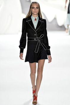 Carolina Herrera Spring 2013 Ready-to-Wear Fashion Show - Aymeline Valade
