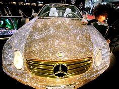 this car is perfect for me...so sparkly!