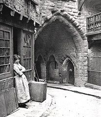 Black Gate Newcastle upon Tyne J. Gibson Undated by Newcastle Libraries Victorian London, Victorian Street, Vintage London, London History, British History, World History, Asian History, Tudor History, Vintage Pictures