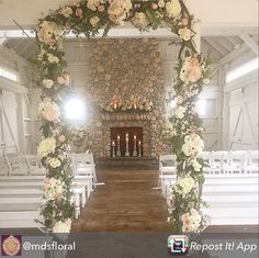 Feeling romantic in the Boathouse Chapel at Bonnet Island Estate, NJ Flowers by MDS Floral Design Repost from @mdsfloral using @RepostRegramApp - #weddingsofdistinctionnj #ashfordestate #wedding #nj #njwedding #bonnetislandestate #weddingsofdistinctionnj #weddingsofdistinction @bonnetislandestate
