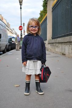 I just love little girls with glasses!! This does link to 50 Pictures Of Children Who Are Cooler Than You