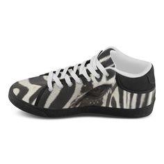 Zebra Women's Chukka Canvas Shoes. FREE Shipping. FREE Returns. #sneakers #zebra