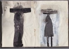 Sketchbook : Collages by Lars Henkel, via Behance