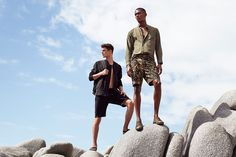 All the latest men's fashion lookbooks and advertising campaigns are showcased at FashionBeans. Click here to see more images from the H&M, Essentials Spring/Summer 2017 Advertising Campaign