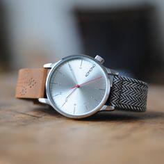 Winston Galore Walnut / Herringbone watch