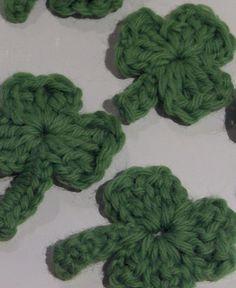 Gabli Musing: Small Shamrock Crochet Tutorial