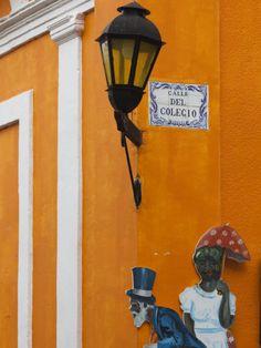 Colonia Del Sacramento, Shop Detail, Uruguay Lámina fotográfica por Walter Bibikow en AllPosters.com.ar.