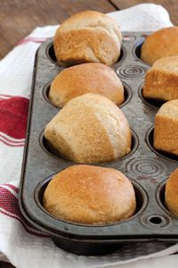 Make-Ahead Honey Wheat Rolls @Christy Jordan
