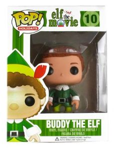 Amazon.com : Funko POP! Movies Buddy the Elf Vinyl Figure : Toy Figures : Toys & Games