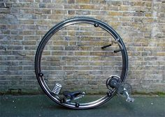 monocycle by Ben Wilson Design Ben Wilson, Monocycle, Brooks England, E Mobility, Drift Trike, Joy Ride, Fixed Gear Bike, Mode Of Transport, Pedal Cars
