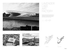 Architecture – The Augmented Environment Lake Art, Architecture Board, Competition, Lavender, Presentation, Environment, Sketches, Layout, Graphics