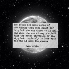 She is like th Moon ●