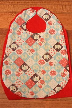How to Make an Extra Large Bib for your Baby