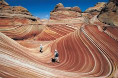 Big Water, Utah - Lottery allows only 20 hikers daily to visit sandstone formations