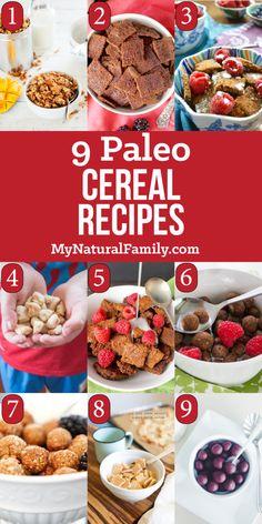 Paleo Cereal Recipes