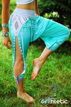 Boho Spirit harem pants - Arthletic Wear - 1
