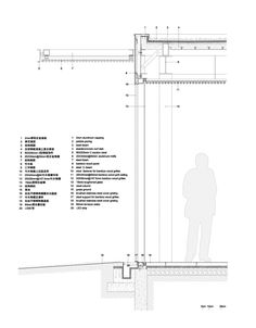 Image 14 of 19 from gallery of Harvest Pavilion / Vector Architects. detail section 01