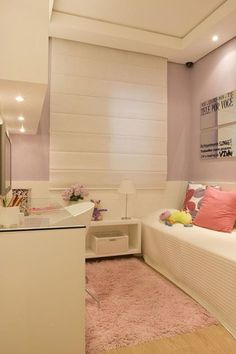 Como decorar um quarto pequeno feminino sem erro