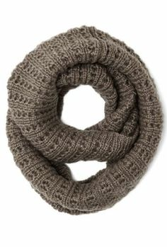 Circle scarf in Taupe