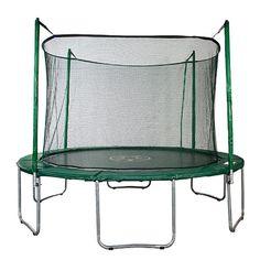 Powerjumper Economy Combo trampoliini-paketti on edullinen valinta perheen ensimmäiseksi malliksi lapsille.