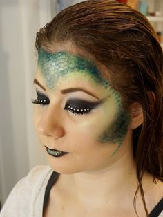 Dragon Costume Makeup Lizard makeup