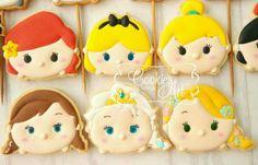 Tsum Tsum Princess Cookies