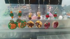 Check out this item in my Etsy shop https://www.etsy.com/listing/263042745/pumpkin-earings-doughnut-earings-pancake