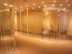 Reflective film on meeting rooms