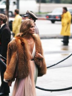 Lauren Hutton - A Look Back at the Best Oscars Fashion Moments of All Time via @WhoWhatWear