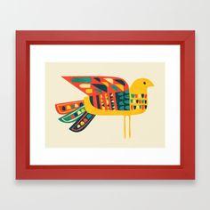 Century Bird Framed Art Print