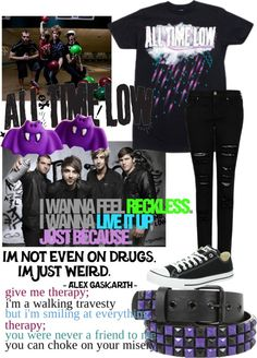 """Band Outfit #5 All Time Low"" by animefan247 on Polyvore"