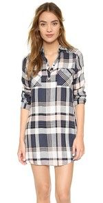 The Sunset Tunic Jack by BB Dakota Midge Shirtdress $70.00 @ shopbop