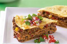 Mexican tortilla pie main image
