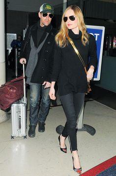 Kate Bosworth's Secret Airport Style Tricks via @WhoWhatWearUK