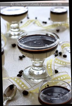 Coffee panna cotta- Easy- Big Impression