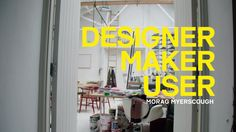 The Design Museum visits the studio of Morag Myerscough, exhibition designer for Designer Maker User, the museum's first permanent display using the collecti...