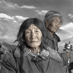 """Tibetan Portrait"" by Photographer Phil Borges"