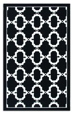 The Rug Market Resort Hyperion Black Rug   Contemporary Rugs