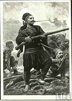 GREEK INSURRECTION TURKISH SQUADRON 1878 ANTIQUE PRINT