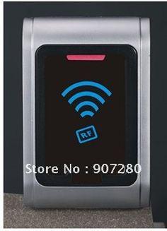 Wholesale 125KHz EM (ID) Metal Access Control Wiegand 26 Slave  Reader