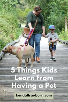 5 Things Kids Learn from Having a Pet Pet Dogs, Dog Cat, Pets, Pet Care Tips, Blog Love, Cool Kids, Kids Fun, Dog Owners, Kids And Parenting