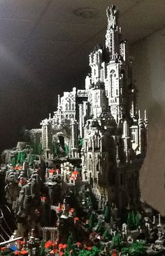 in Legos ! The Odan Project: A Fantastical and Massive LEGO Masterwork by Mike Doyle — Kickstarter Lego Design, Pokemon Lego, Lego Structures, Niklas, Lego Sculptures, Amazing Lego Creations, Lego System, Lego Blocks, Lego Castle